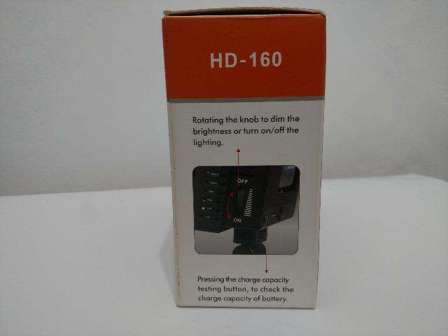 Luminária portátil - Modelo - HD - 160 - Foto 2