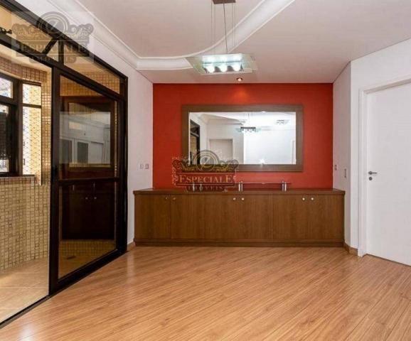 Apartamento para alugar, 176 m² por r$ 3.600,00/mês - bigorrilho - curitiba/pr - Foto 2