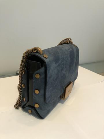 Bolsa Cor Azul Claro