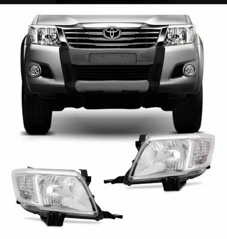 Faróis Toyota Hilux - Foto 3