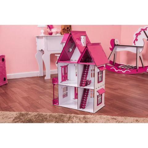 Casinha de Bonecas Escala Polly Modelo Mirian Sonhos - Darama - Nova - Foto 3