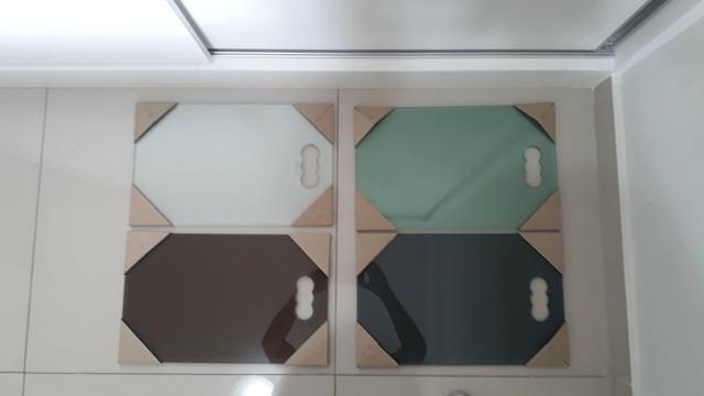 Excelentes tábuas em vidro temperado - Foto 6