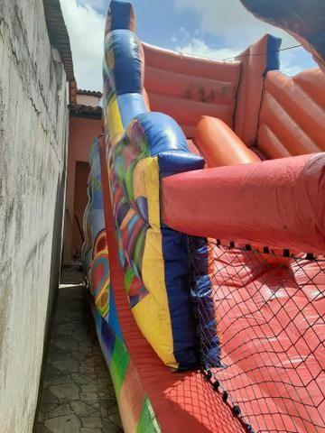 VENDO Tobogã inflável!!! - Foto 3