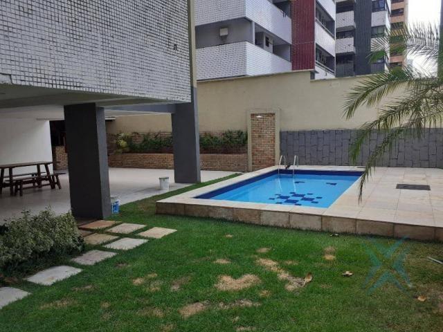 Apartamento com 3 dormitórios para locação ou venda, 150 m² por r$ 500.000 - meireles - fo