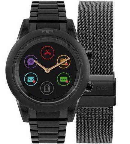 1626abdbf24f6 Relógio technos connect duo preto - Bijouterias, relógios e ...