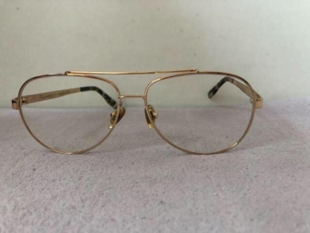 Óculos de grau aviador dourado - Bijouterias, relógios e acessórios ... 31bca9fd42