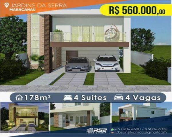 Casa em Condomínio para Venda em Maracanaú / CE no bairro Cágado, Casa a venda Jardins da  - Foto 9