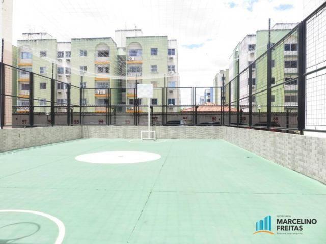 Apartamento com 2 dormitórios para alugar, 45 m² por R$ 909,00/mês - Parque Tabapua - Cauc - Foto 17
