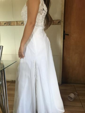 Vestido de noiva novinho - Foto 3
