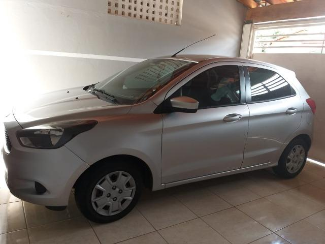 Ford Ka Hath 1.0 Prata 2015 completo