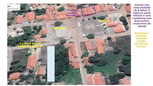 Vendo terreno no centro de barra grande pi. 610 m2