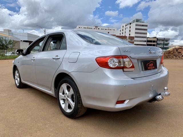 Toyota Corolla 2012 XEI automático ( Vendo à vista ou financiado ) Ac.troca - Foto 7