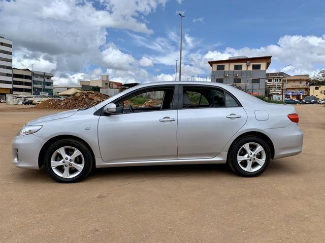 Toyota Corolla 2012 XEI automático ( Vendo à vista ou financiado ) Ac.troca - Foto 8