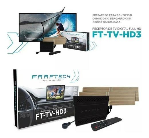 Desbloqueio De Multimídia Jeep Compass com TV Full HD Faaftech - Foto 3