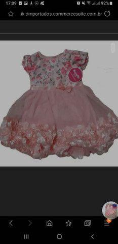 Vestido Florido Bordado Nannette Importado - Foto 2