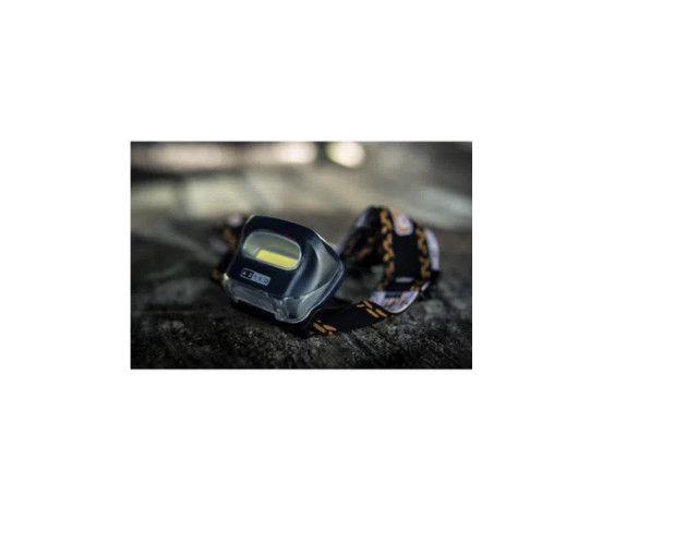Lanterna de cabeça Azteq kashina tecnologia cob potente em curta distância - Foto 4