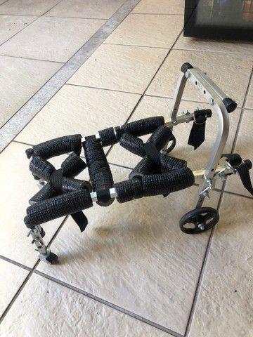 Mini Cadeira Andador 4 Rodas - Foto 2