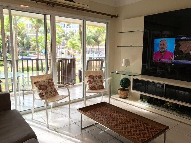 Apartamento Terreo de 3 quartos Pé na Areia Beach Living Porto das Dunas - Foto 5