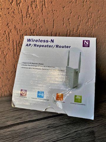 Repetidor para Internet wifi - Wireless-N Mini Router - 2.4G - 110v/220v - Foto 4