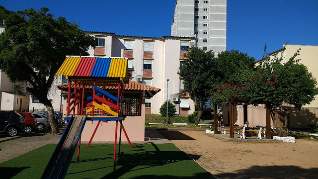 Apartamento à venda com 1 dormitórios em São sebastião, Porto alegre cod:BT10170 - Foto 2