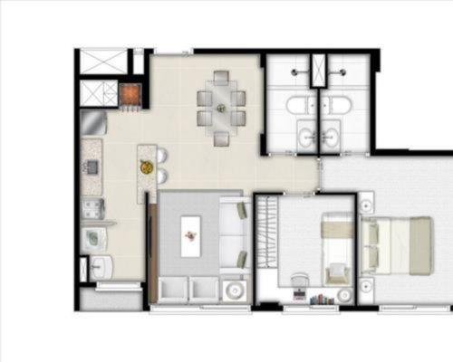 Apartamento à venda com 2 dormitórios em Jardim lindóia, Porto alegre cod:LU26068 - Foto 11