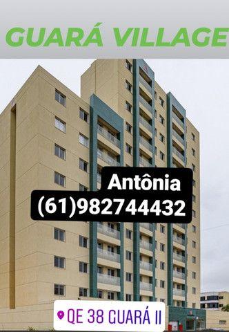 Apartamento  Guará II, 02 quartos,01 garagem, até 100% financiamento bancário