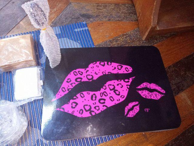 Vendo material para fazer jóias + suporte para notebook - Foto 3