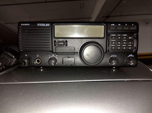 Rádio Yaesu System 600 HF SSB - Foto 5
