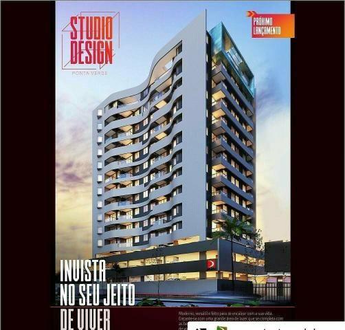 Lançamento, Studio, 01 e 02 quartos, em 80 meses