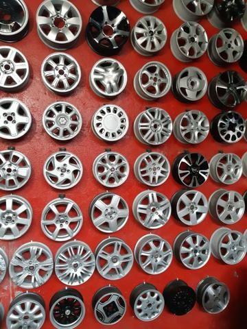 Rodas aros 13/14/15/16/17/18/19/20/22 para Fiat/GM/Nissan/VW/Toyota/Ford/Citroen e outros - Foto 13