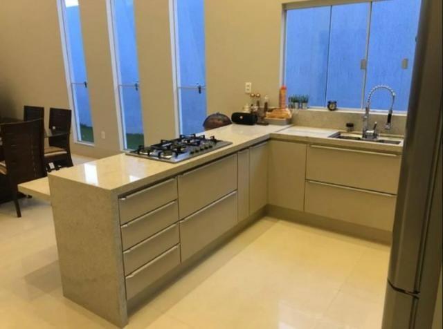 Samuel Pereira oferece: Casa 3 Suites Nova Moderna Pé Direito Duplo Piscina Churrasqueira - Foto 7