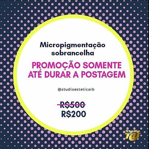 PROMOÇÃO temporária fim de ano Micropigmentação Microblanding
