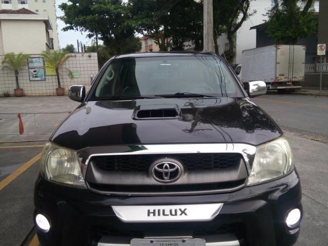 Hilux 2009 srv 3.0 4x4 aut. Diesel,Exc.estado, pneus novos e km bx - Foto 3
