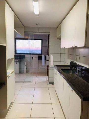 Apartamento com 3 dormitórios para alugar, 101 m² por r$ 2.800,00 - alecrim - natal/rn - Foto 14