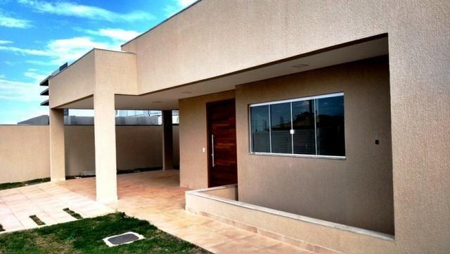 Samuel Pereira oferece: Casa 3 Suites Moderna Armários Churrasqueira Sobradinho CABV - Foto 3