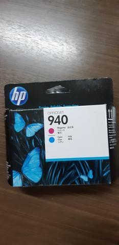 HP 940 de impressão magenta com cyan VALIDADE 2020