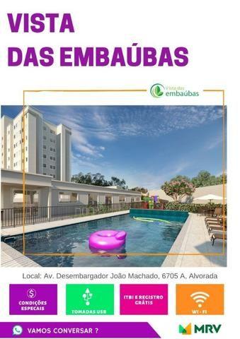 Lançamento MRV Embaubas Planalto 41m² 1Qto 1 vaga R$ 184.300,00 - Foto 3