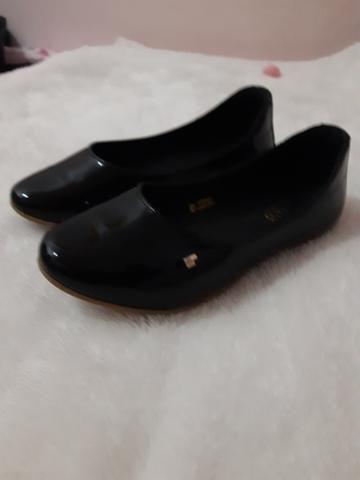 Sapato bibi em couro