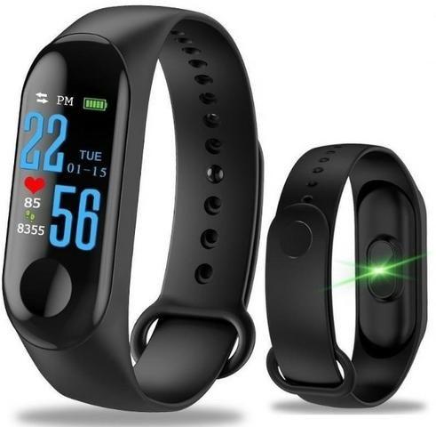 Relógio p/ pressão arterial (Smartband M3)