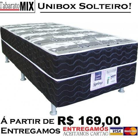 Liquida Tudo! Unibox Solteiro a Partir de 169$! 6x sem juros