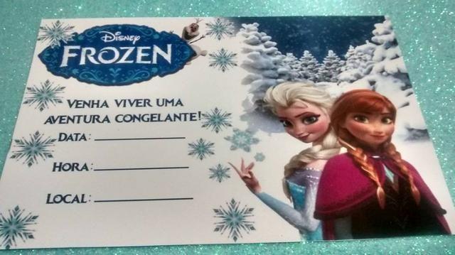 Convites de Aniversários - Com papel Fotográfico - com Verniz UV Total! - Foto 2
