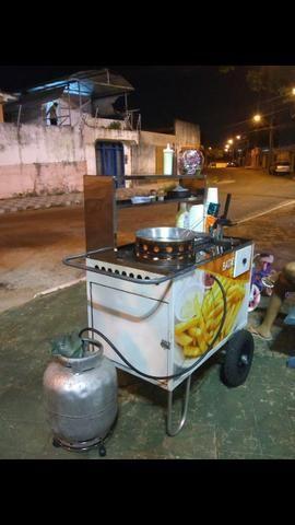Vende-se Carrinho de lanches para batata frita - Foto 3