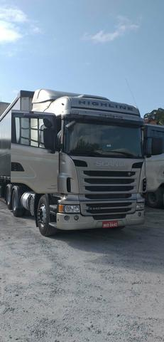 Vendo scania highline 2013 6x2 automática - Foto 8
