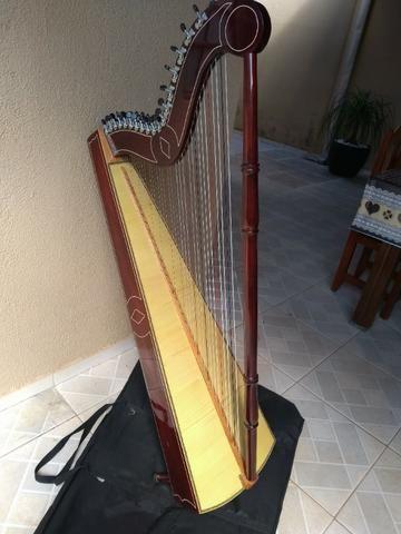 Harpa paraguaia artesanal - Foto 4