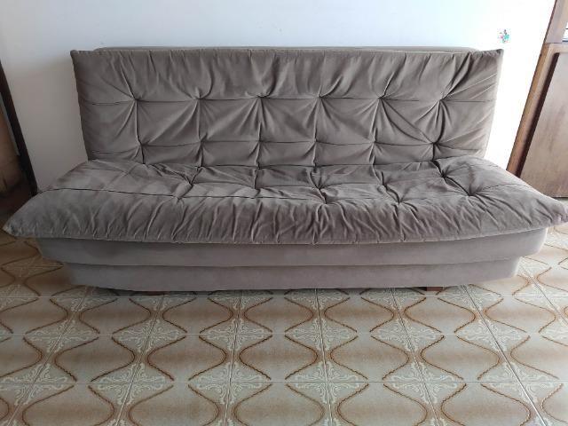 Vendo sofá-cama 4 lugares - Foto 6
