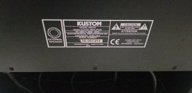 Instrumento Baixo Ibanez GSR 200 | 4 Cordas + Caixa Grave Kustom KBA16 - Foto 2