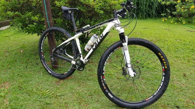 Bicicleta caloi elite carbon Original XT 12x Sem Juros