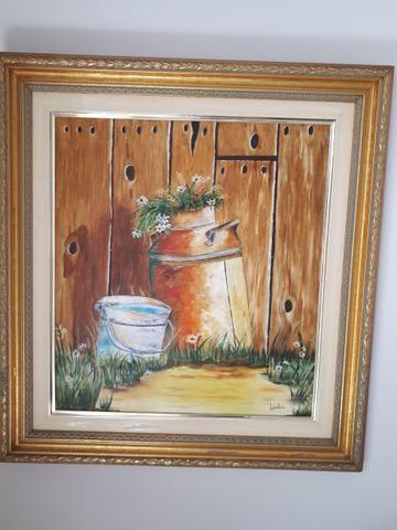 Quadro óleo sobre tela