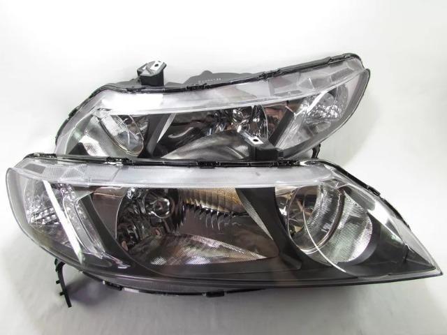Par Farol Honda New Civic 2006 2007 2008 2009 2010 2011 - Foto 5