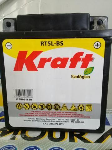 Bateria Moto Kraft 5Ah Crypton /XTZ125/Super100/Traxx Star50, Sky110